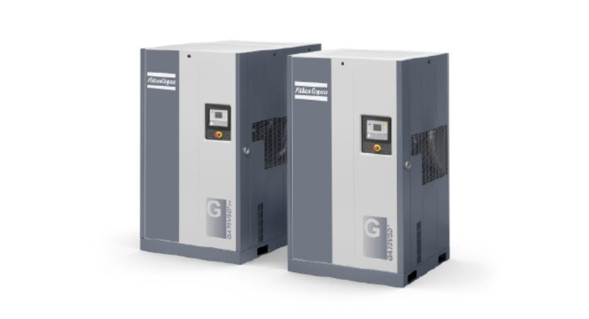 MEET THE NEW ATLAS COPCO GA 37-75 VSD+ 37-75KW,50-100 HP