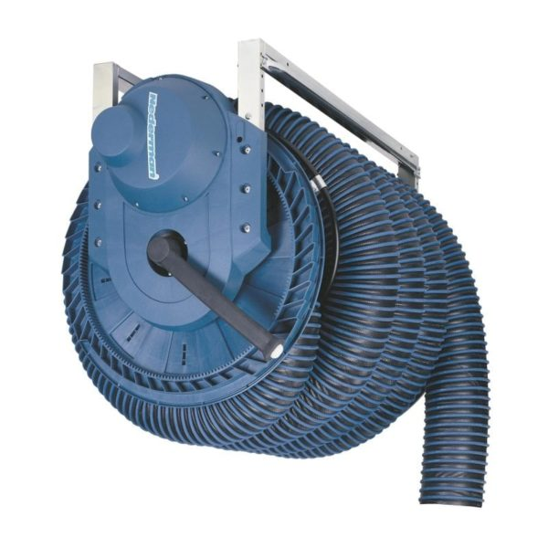 Exhaust Hose Reel 865 Electric Motor Driven