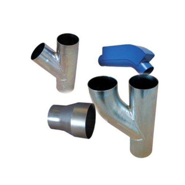 High vacuum pipe system accessories